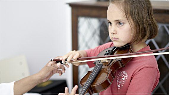 La elección del primer instrumento musical