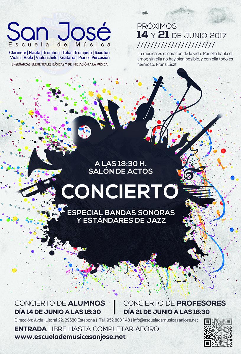 Concierto Bandas Sonoras y Estándares de Jazz