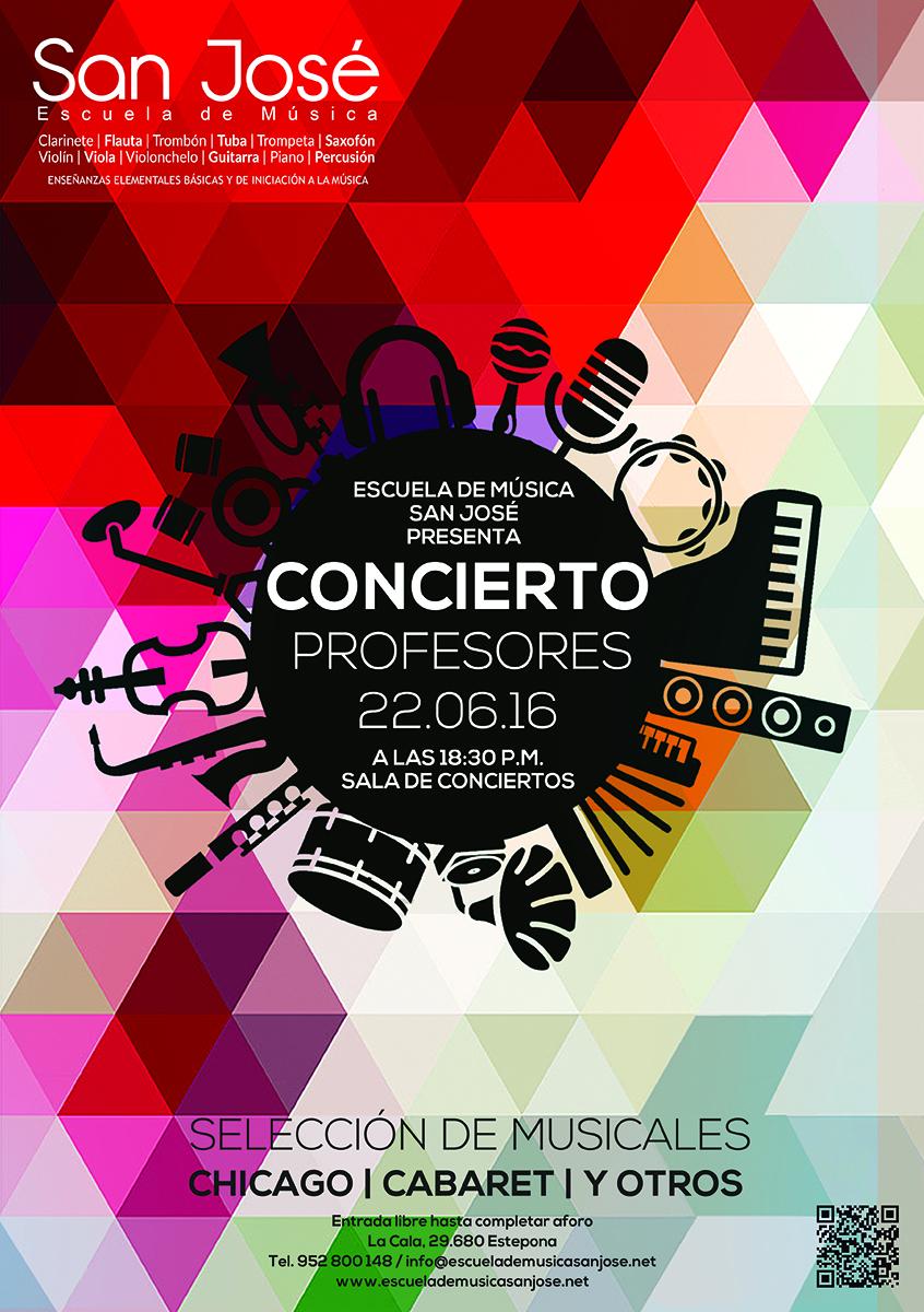 Concierto Profesores Escuela de Música