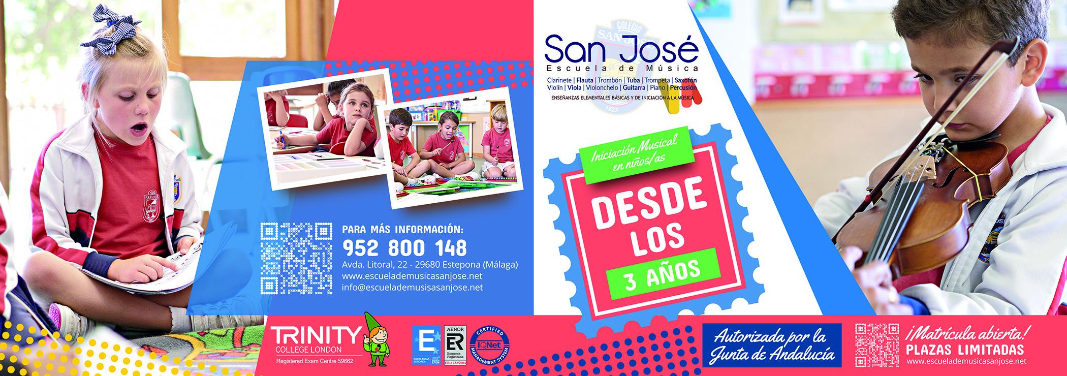 Folleto 2018 Escuela de Música San José