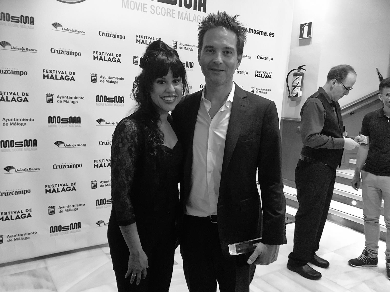 Rebeca Orellana y Jeff Russo