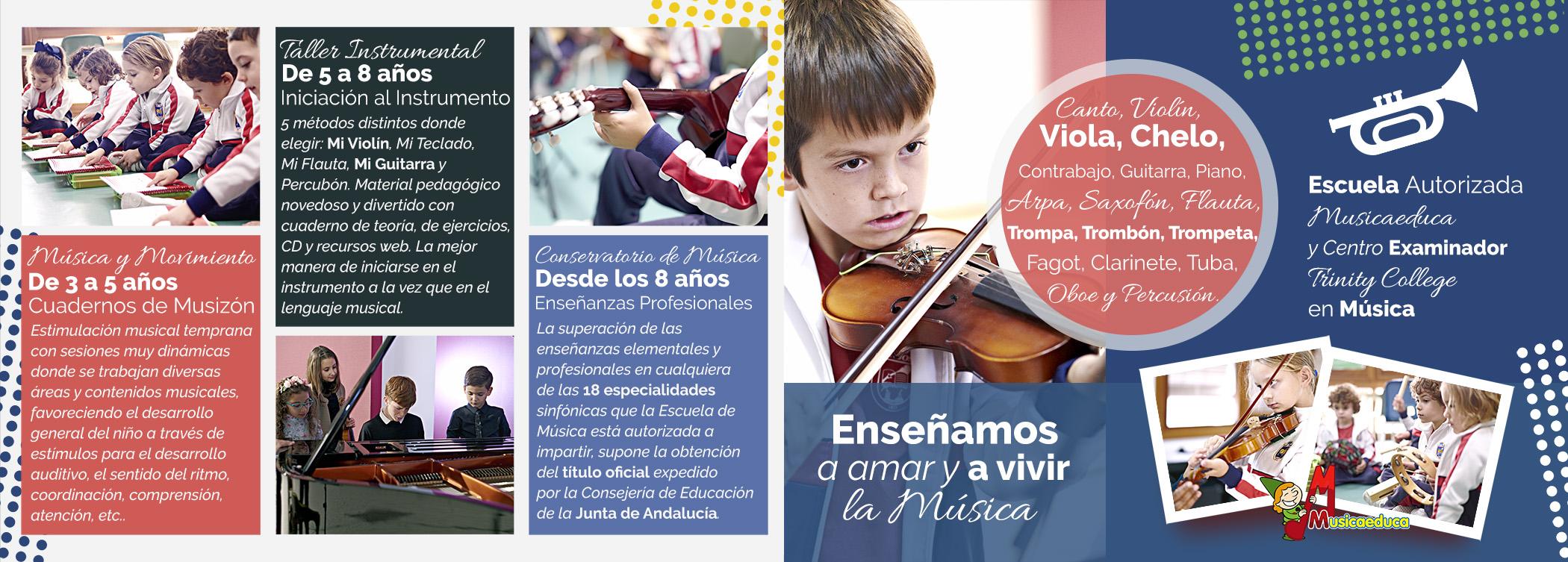 Nuevas enseñanzas Escuela de Música
